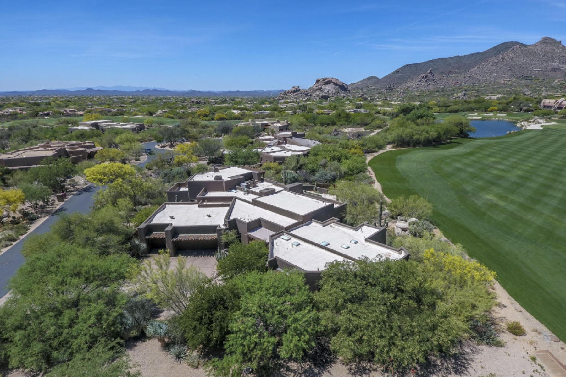 Single Family Home for Sale at Custom Terry Kilbane designed estate 7716 E Black Mountain Rd Scottsdale, Arizona, 85266 United States