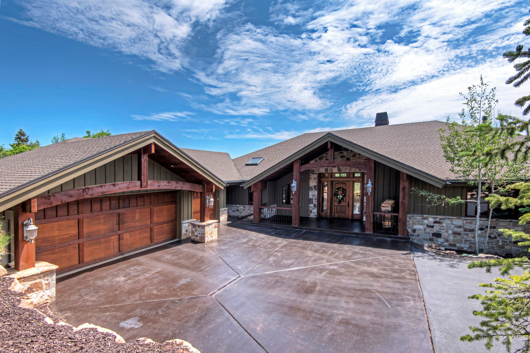 Single Family Home for Sale at Beautiful Home with Expansive Views 9254 N Canyon Rd Park City, Utah, 84098 United States