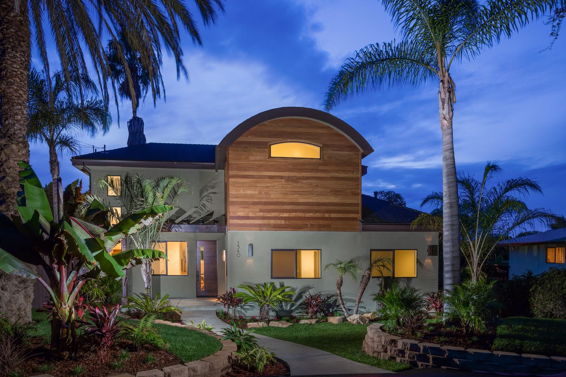Maison unifamiliale pour l Vente à 1540 Caudor Street Encinitas, Californie 92024 États-Unis