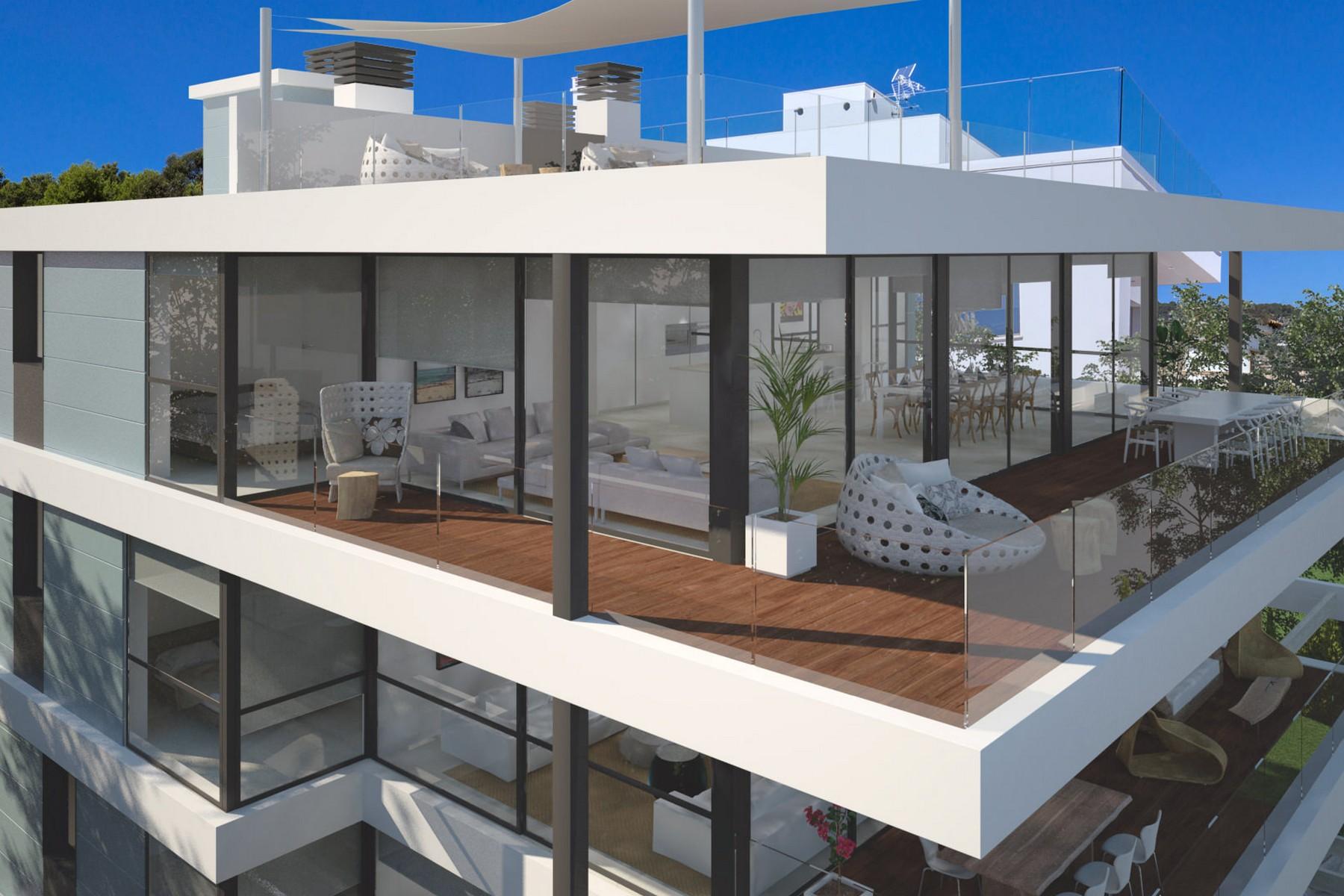 公寓 为 销售 在 Luxury sea view penthouse in Cas Catalá Nou Bendinat, 马洛卡 07181 西班牙
