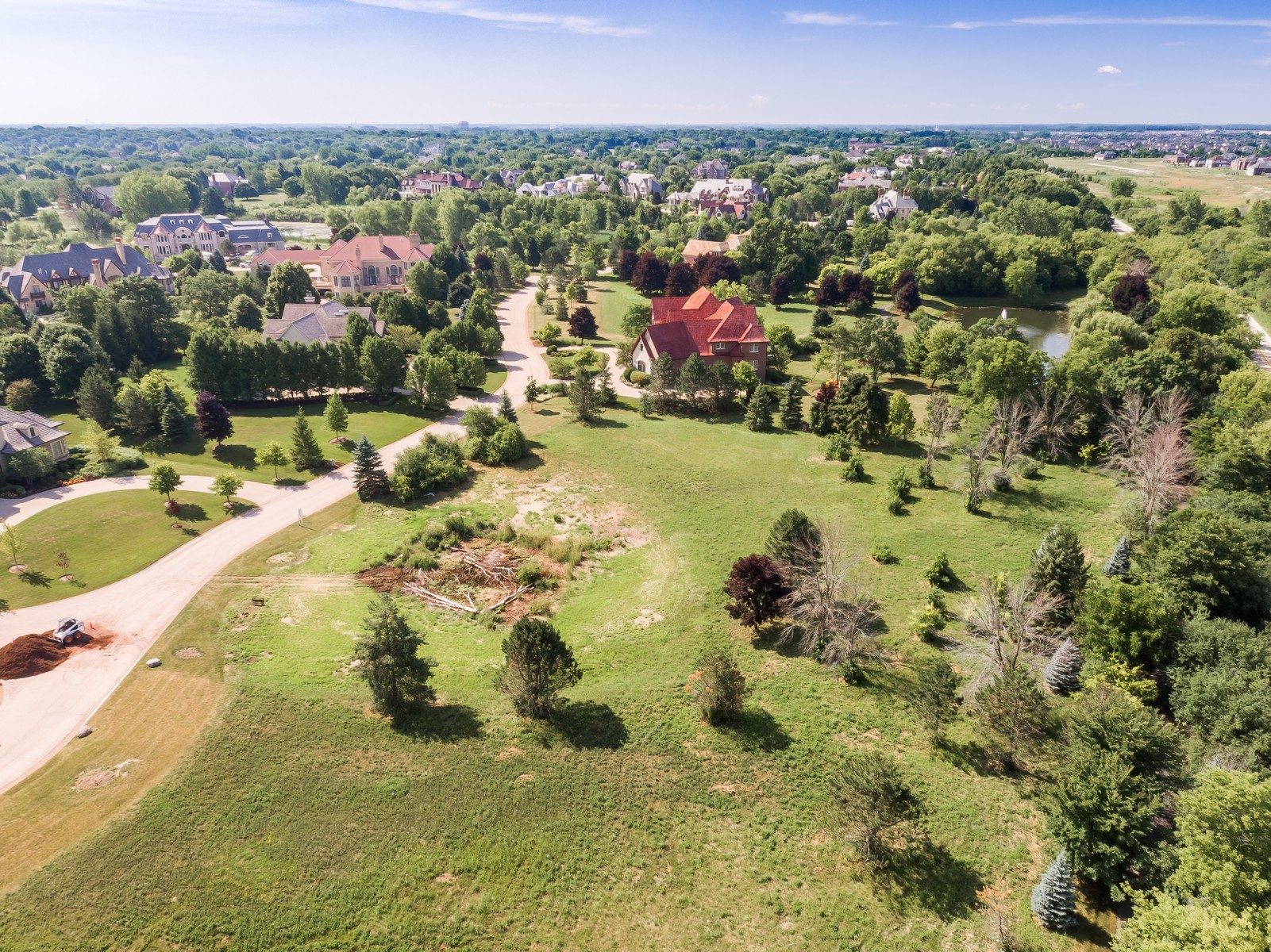 Земля для того Продажа на Incredible 1.3 Acre Estate Lot in Hidden Lakes 18 Brooke Lane Lot 32 South Barrington, Иллинойс, 60010 Соединенные Штаты
