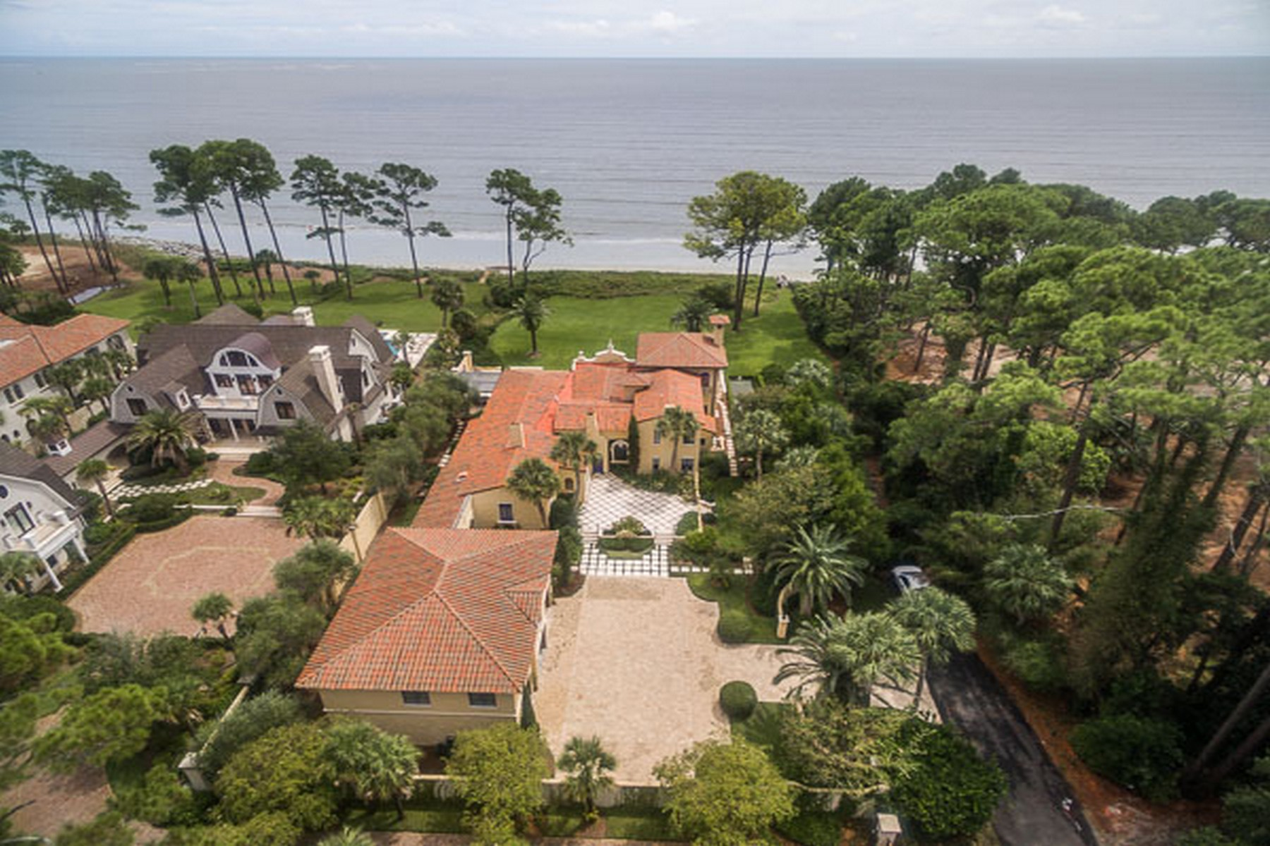 Single Family Home for Active at Sea Island Oceanfront Estate Sea Island, Georgia 31561 United States