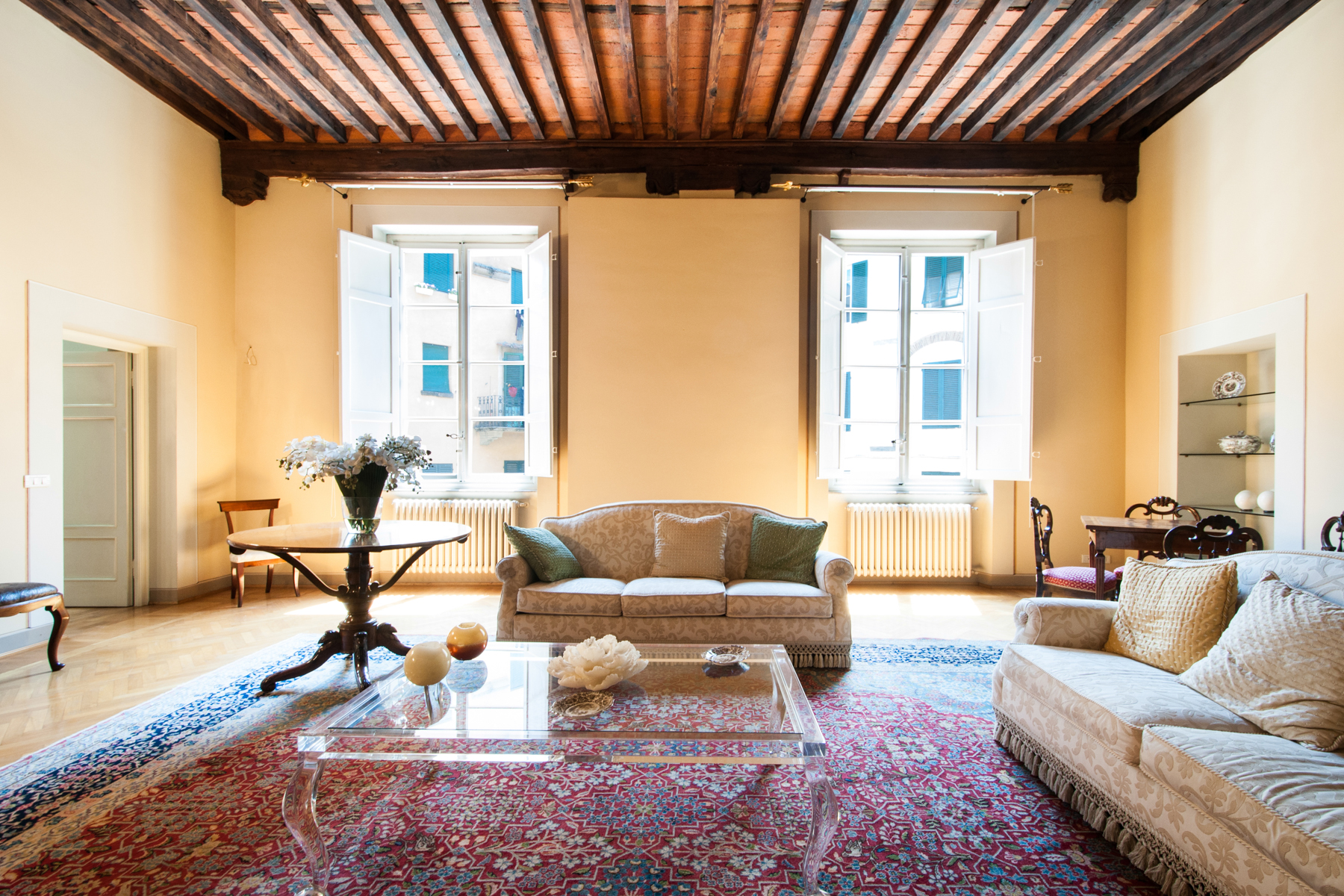 Single Family Home for Sale at Splendid townhouse in Lucca Piazza delle Grazie Lucca, Lucca 50100 Italy
