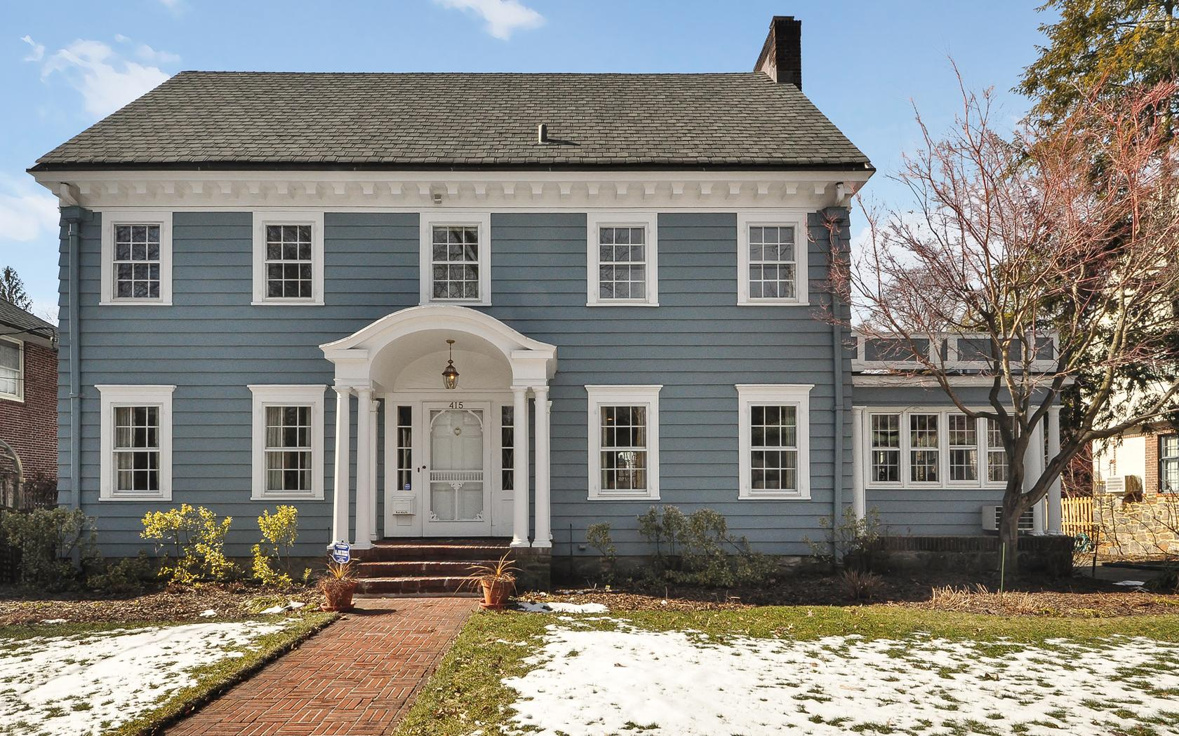 sales property at THE CENTER HALL COLONIAL OF YOUR DREAMS