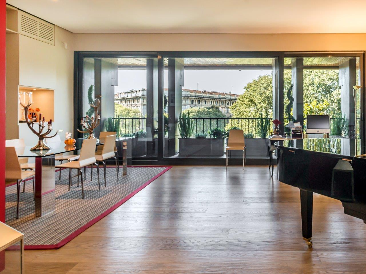 Apartment for Sale at Exclusive refurbished penthouse with view of the Castle Largo Cairoli Milano, Milan 20121 Italy