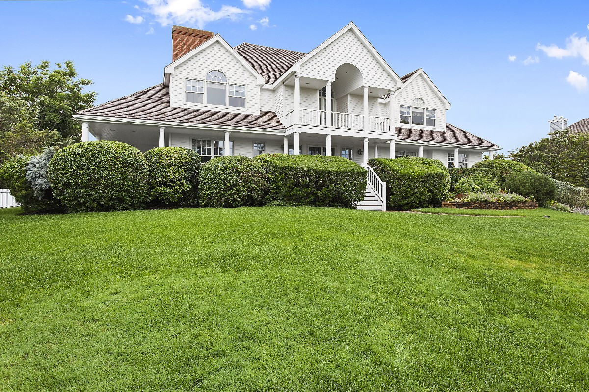 Single Family Home for Sale at Custom Built Bayfront Estate 133 Jessup Lane Westhampton Beach, New York 11978 United States