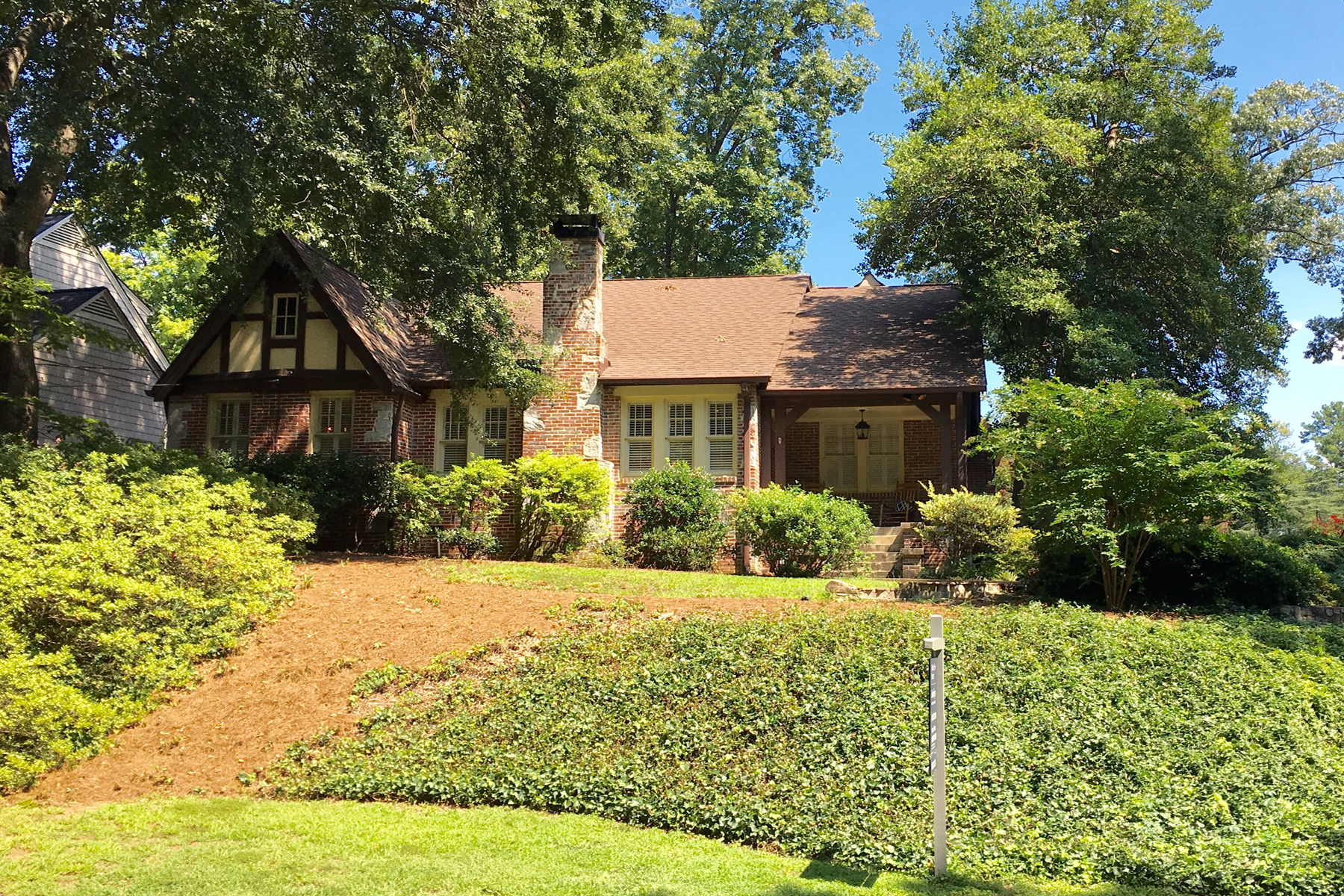 Single Family Home for Sale at Charming Renovated Tudor 2727 N Hills Drive NE Garden Hills, Atlanta, Georgia, 30305 United States