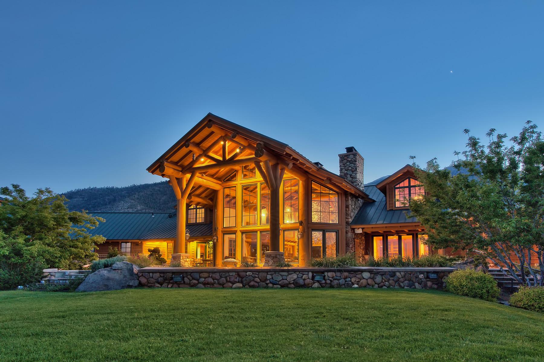 独户住宅 为 销售 在 281 Fredericksburg Road Gardnerville, 内华达州 89460 美国