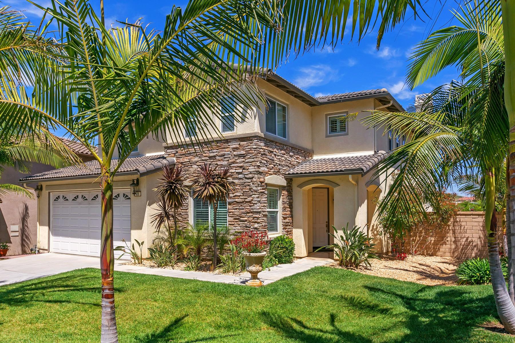 단독 가정 주택 용 매매 에 609 Carnation 609 Carnation Court San Marcos, 캘리포니아, 92078 미국