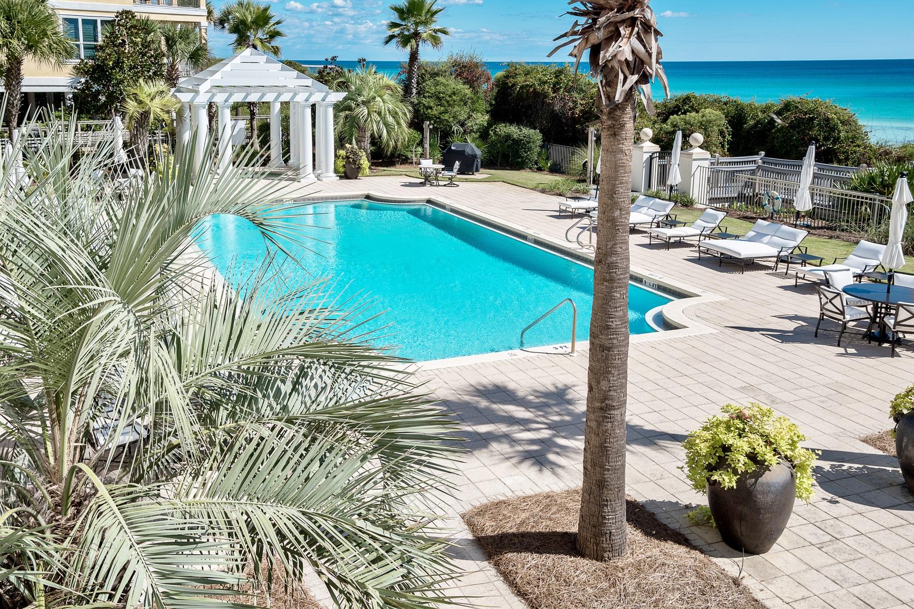 コンドミニアム のために 売買 アット GULF FRONT CONDO LIVES LIKE A HOME 4128 E County Highway 30A 205 Santa Rosa Beach, フロリダ, 32459 アメリカ合衆国