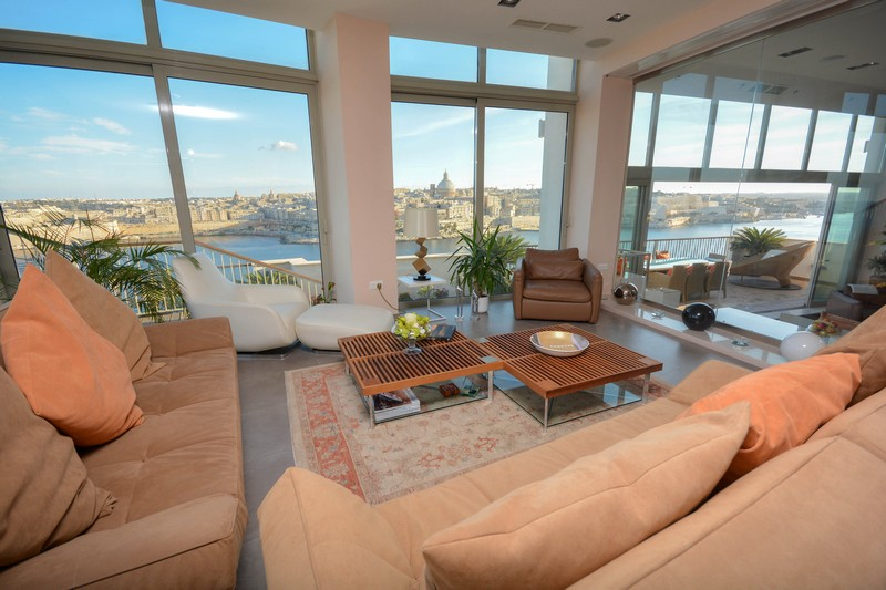 Apartamento para Venda às Luxury Tigne Penthouse Tigne Point, TP 01 Malta