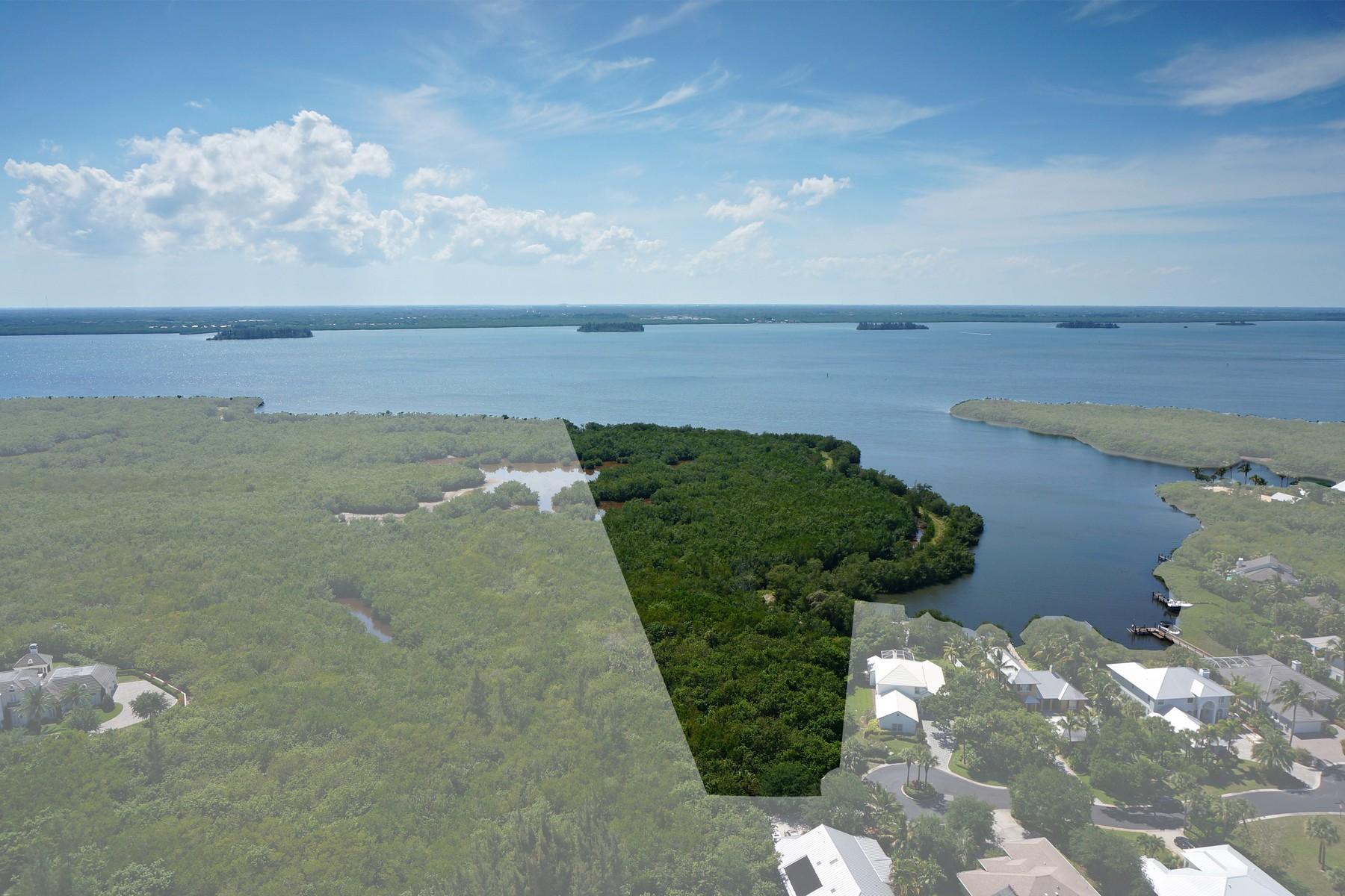 土地 为 销售 在 Coveted 15 acre Riverfront Homesite Hidden Pearl Place Vero Beach, 佛罗里达州 32963 美国