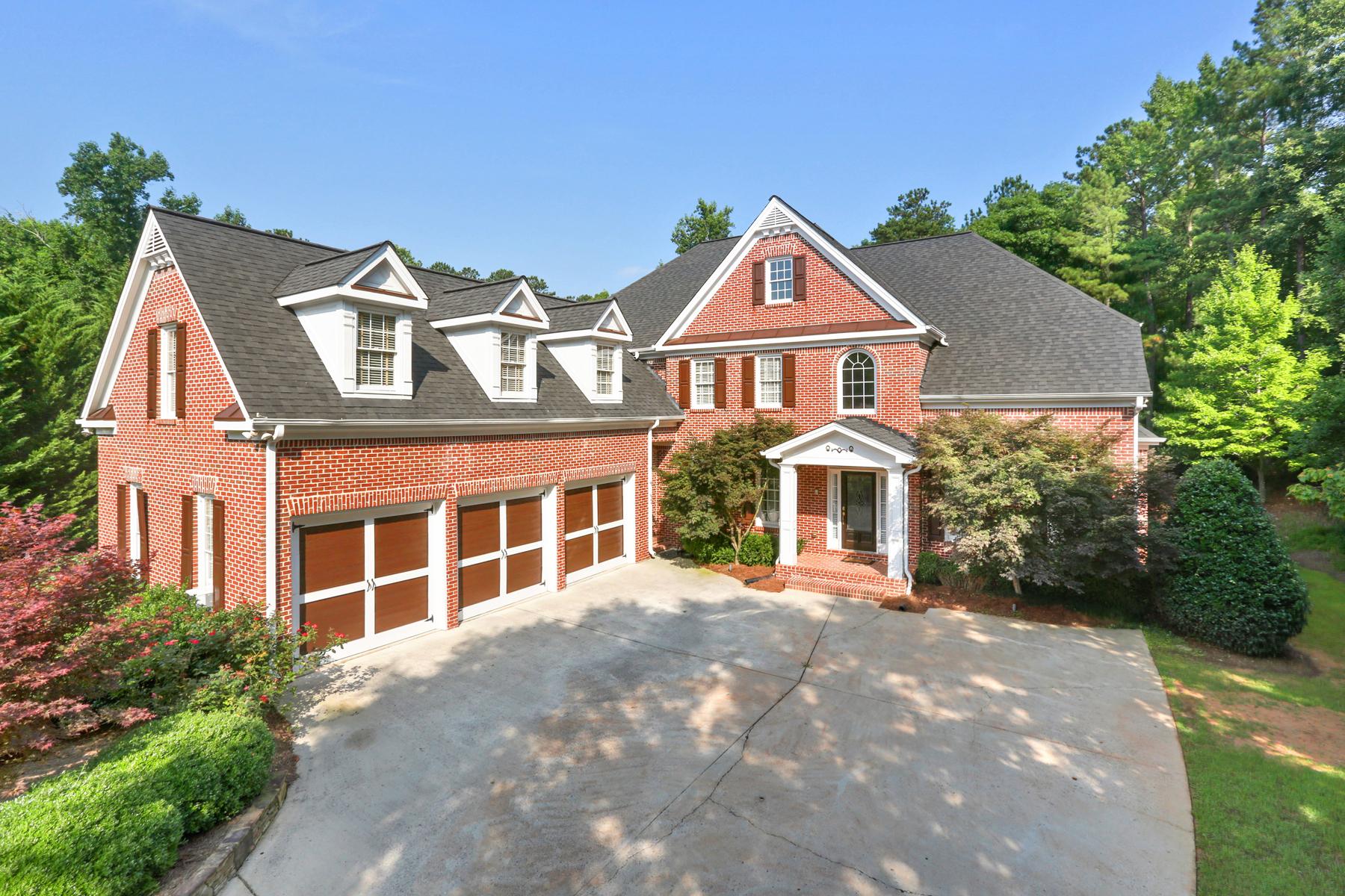 Casa para uma família para Venda às Golf Course Beauty In Brookstone 5918 Downington Place NW Acworth, Geórgia 30101 Estados Unidos