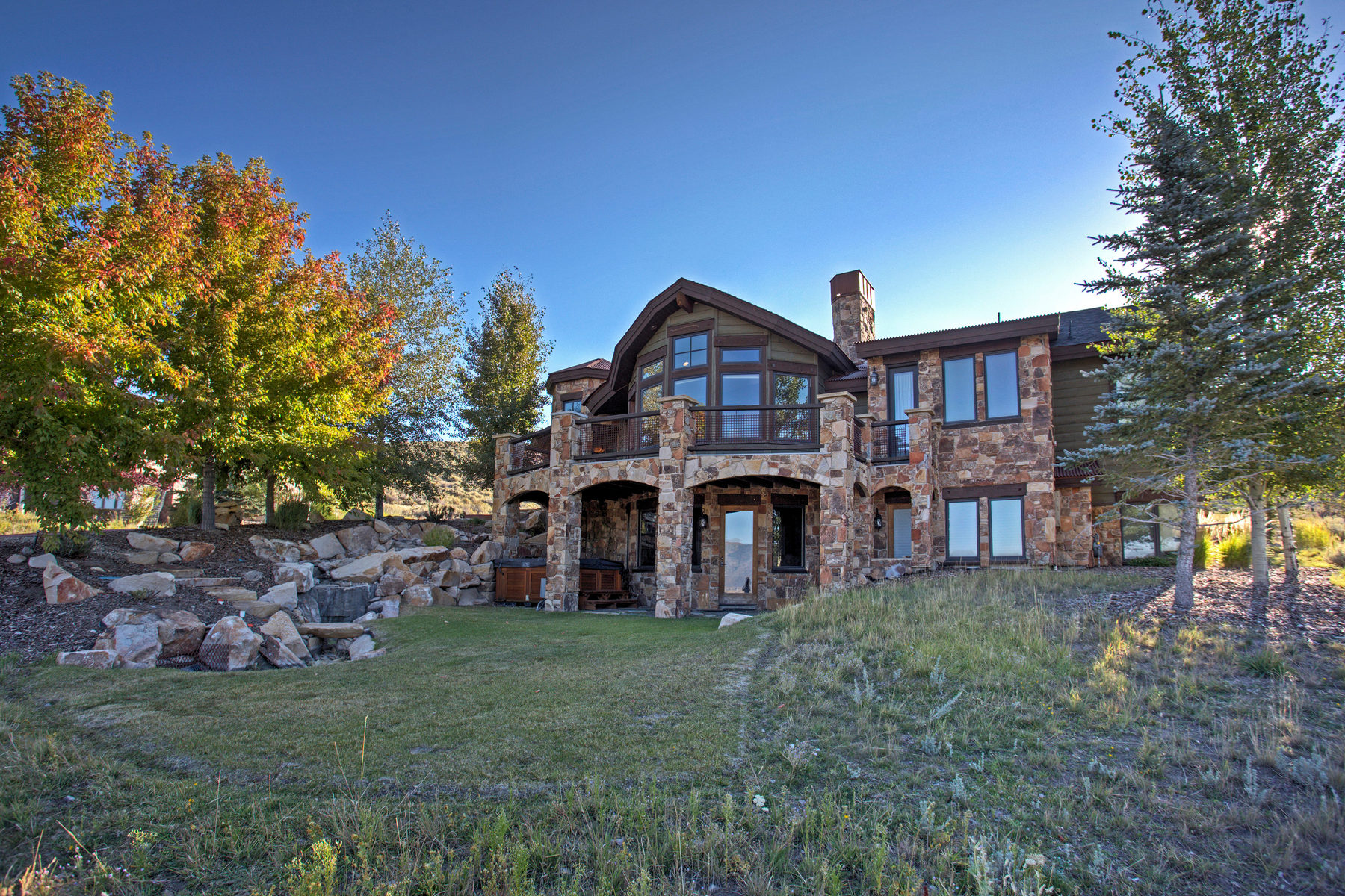 Single Family Home for Sale at Mountain Contemporary Home With Privacy And Ski Resort Vie 3382 Westview Trl #10 Park City, Utah 84098 United States