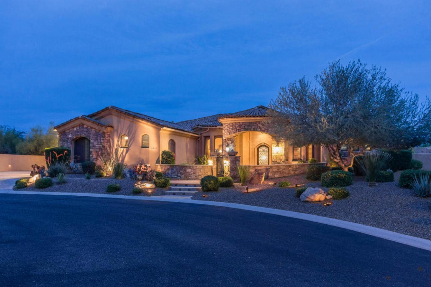 獨棟家庭住宅 為 出售 在 Beautiful well appointed tuscan custom home 8253 E KRAMER CIR Mesa, 亞利桑那州 85207 美國