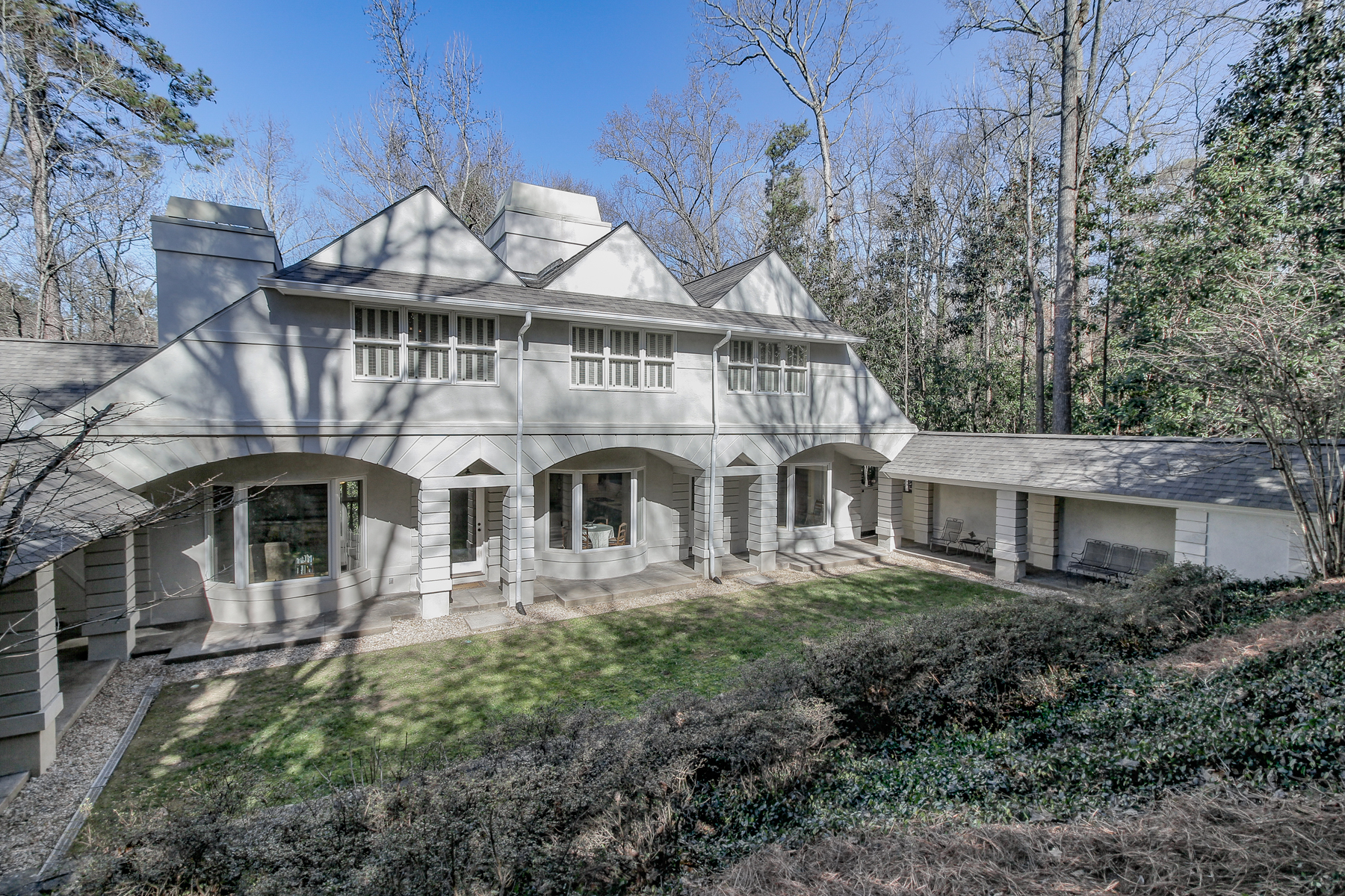 Maison unifamiliale pour l Vente à Architectural Mountain House Masterpiece In Buckhead 7 W Wesley Ridge Atlanta, Georgia 30327 États-Unis