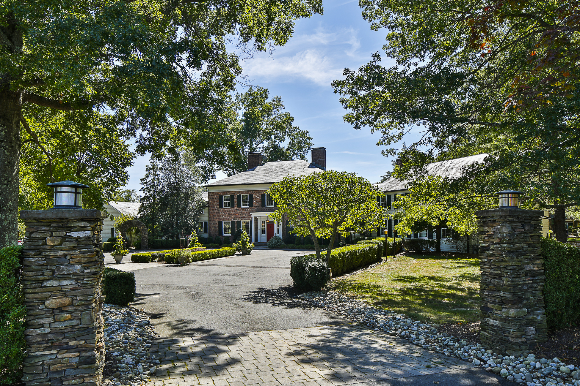 Single Family Home for Sale at Hidden Princeton Estate Is a World Unto Itself 214 Cherry Hill Road Princeton, 08540 United States