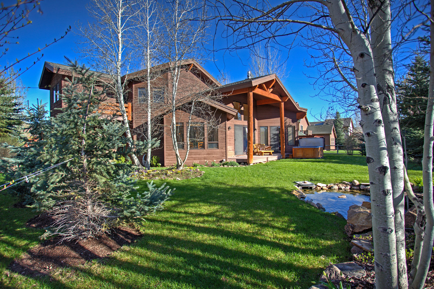 Single Family Home for Sale at Stunning Home with Fabulous Indoor and Outdoor Living Spaces 1091 Cutter Ln Park City, Utah, 84098 United States