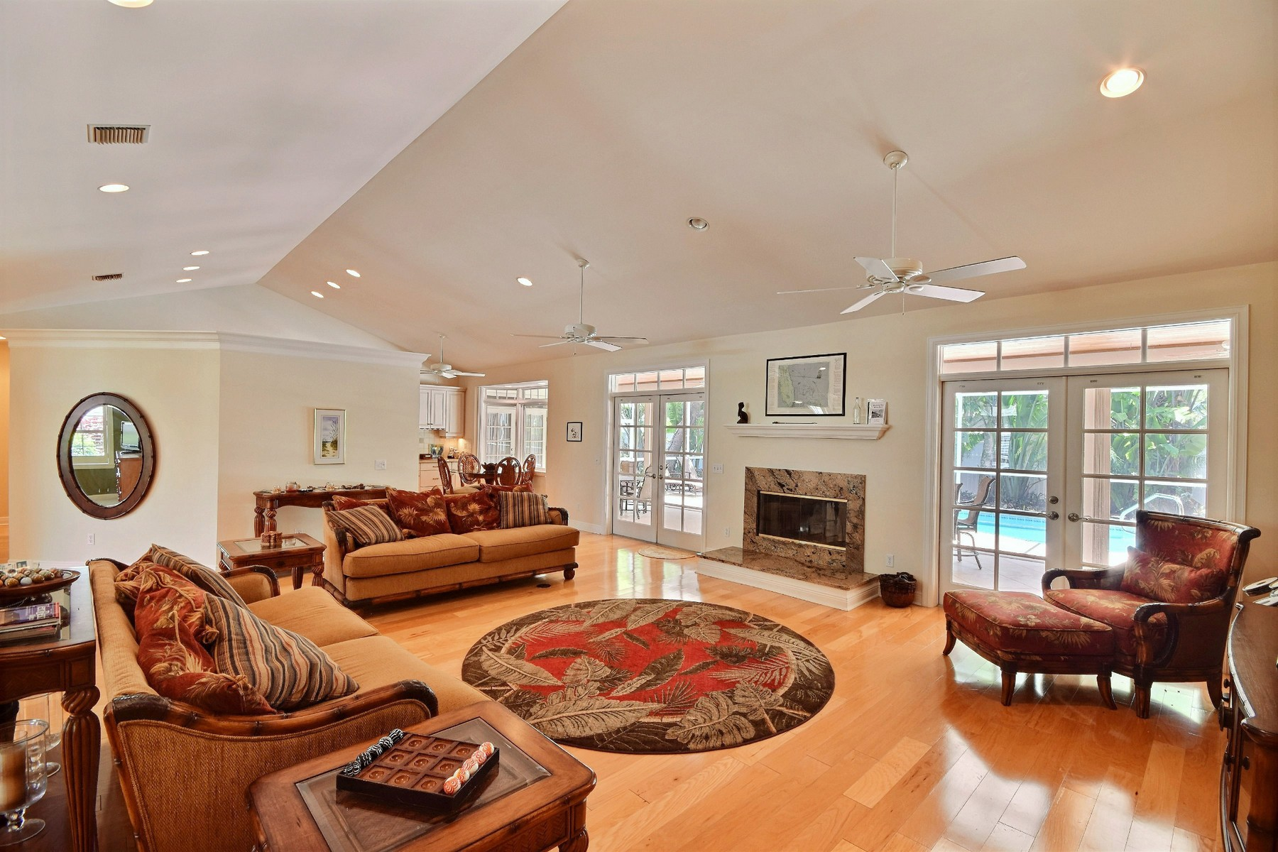 Single Family Home for Sale at Custom Home by the Ocean 904 Holoma Drive Vero Beach, Florida, 32963 United States