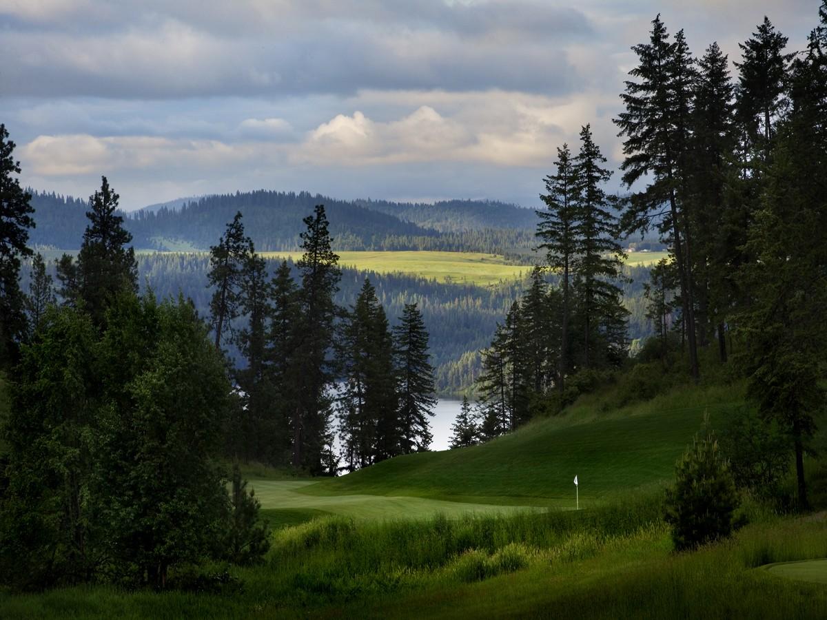 Land for Sale at Incredible Black Rok Building Site 190 Basalt Coeur D Alene, Idaho 83814 United States