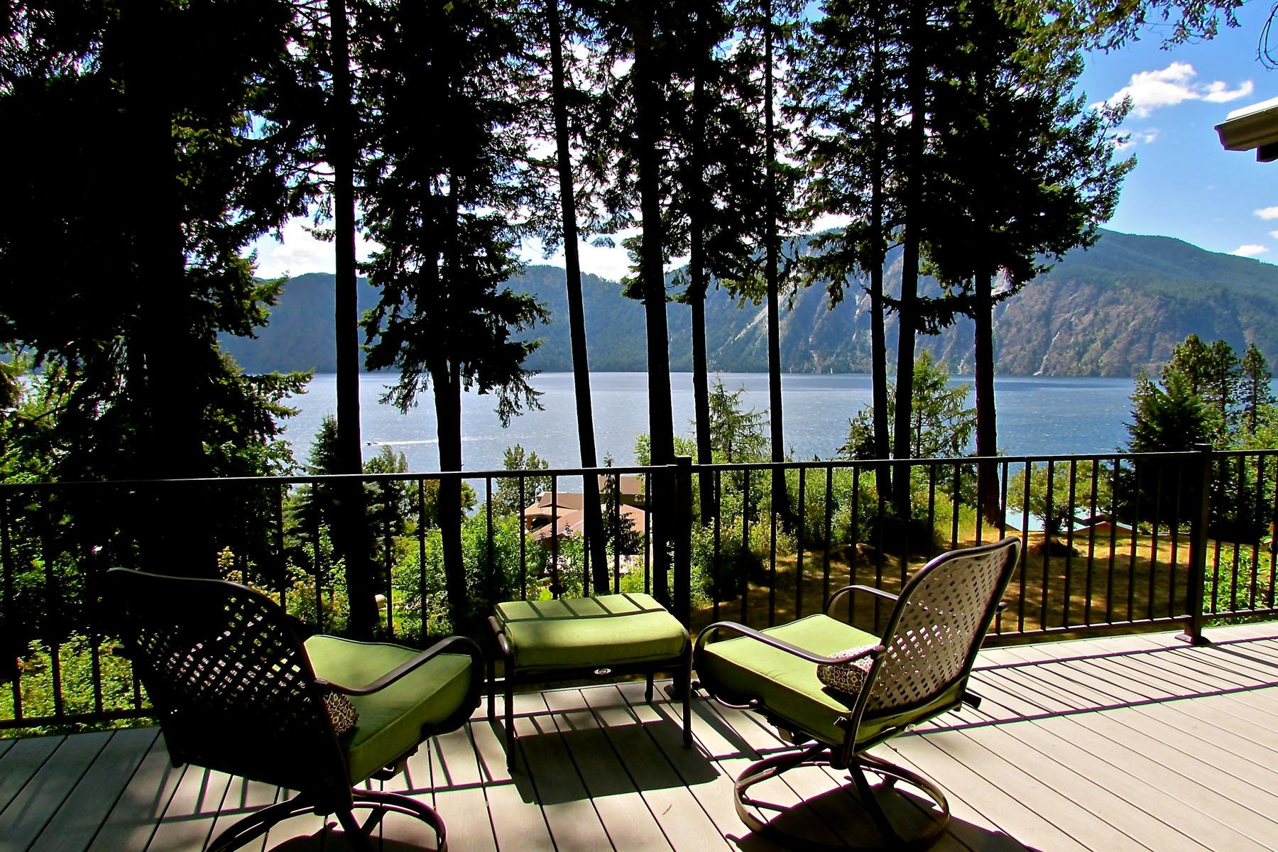 단독 가정 주택 용 매매 에 Stunning Lake Pend Oreille Views! 34274 N Pend Oreille Pines Bayview, 아이다호 83803 미국