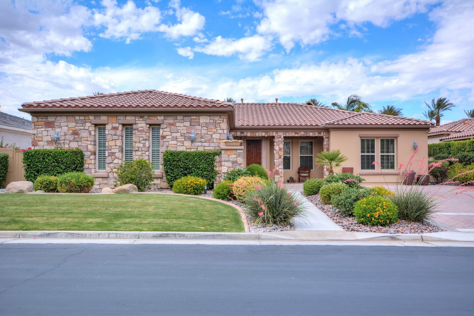 Maison unifamiliale pour l Vente à 73270 Via Montelena Indian Wells, Californie, 92210 États-Unis