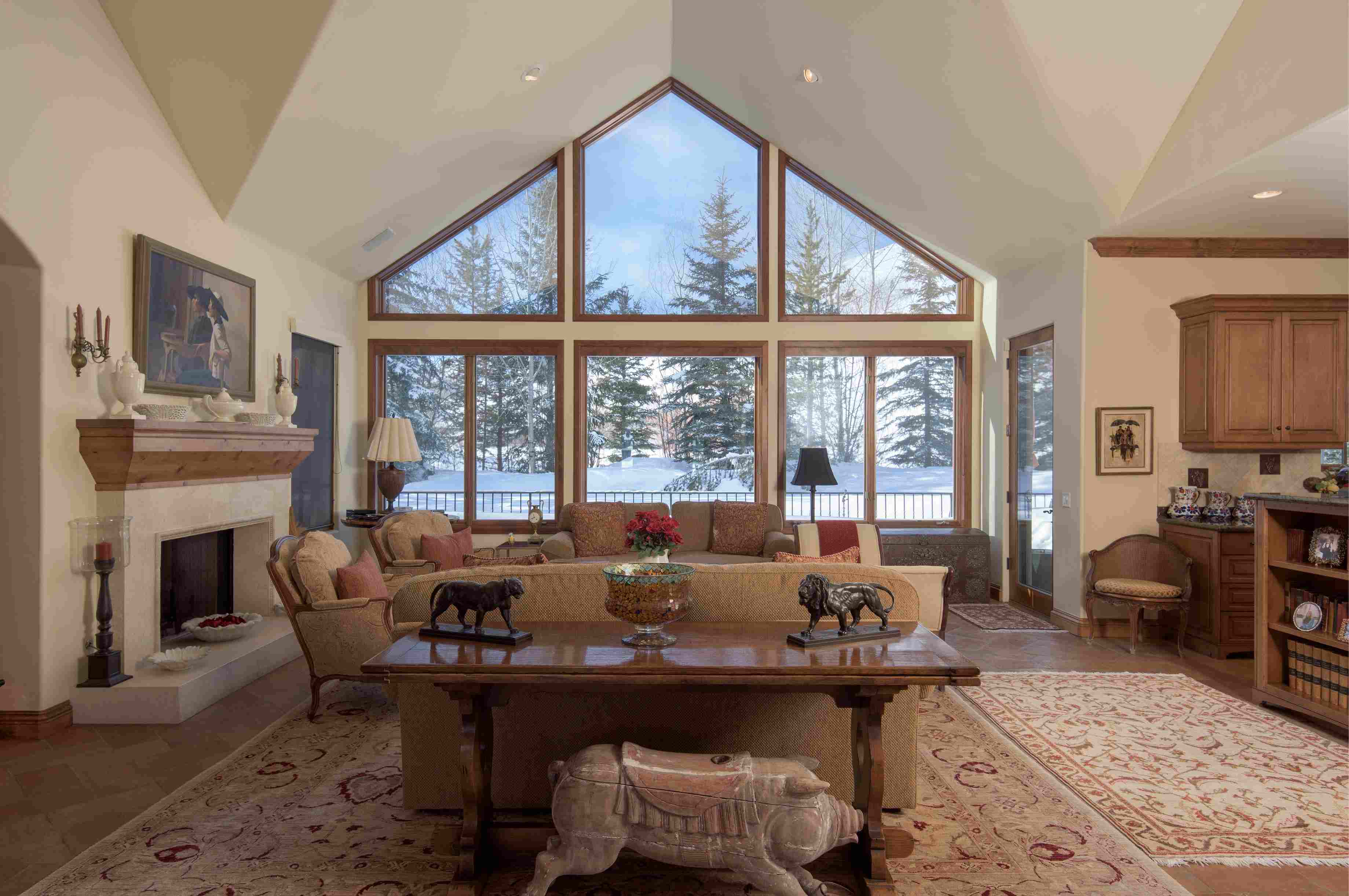 Single Family Home for Sale at Rarely Available Estate Caliber Home 1100 W Canyon Run Blvd. Warm Springs, Ketchum, Idaho, 83340 United States