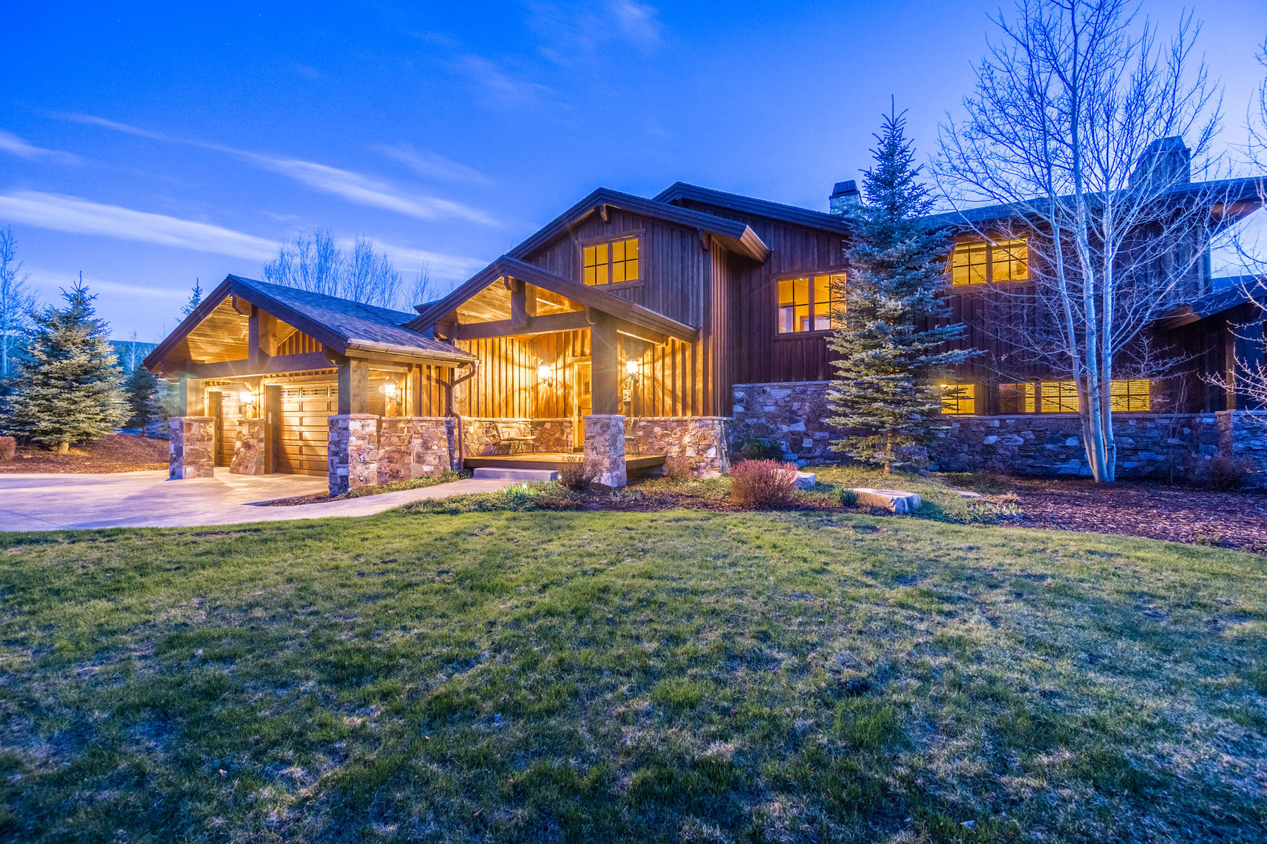 Single Family Home for Sale at Unobstructed Views of Park City Ski Areas 5800 Mountain Ranch Dr Park City, Utah 84098 United States