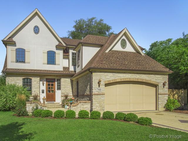 Tek Ailelik Ev için Satış at 740 Phillippa Hinsdale, Illinois, 60521 Amerika Birleşik Devletleri