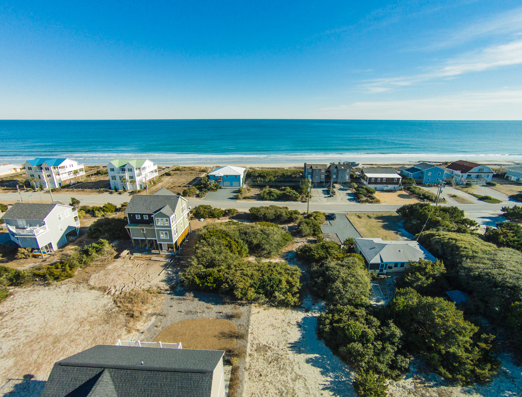 Land for Sale at Generously sized lot with nice elevations 122 S Anderson Topsail Beach, North Carolina, 28445 United States