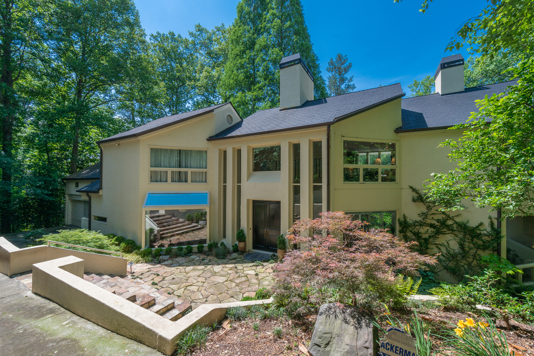 Single Family Home for Sale at Stunning Contemporary 5 W Wesley Ridge NW Buckhead, Atlanta, Georgia 30327 United States