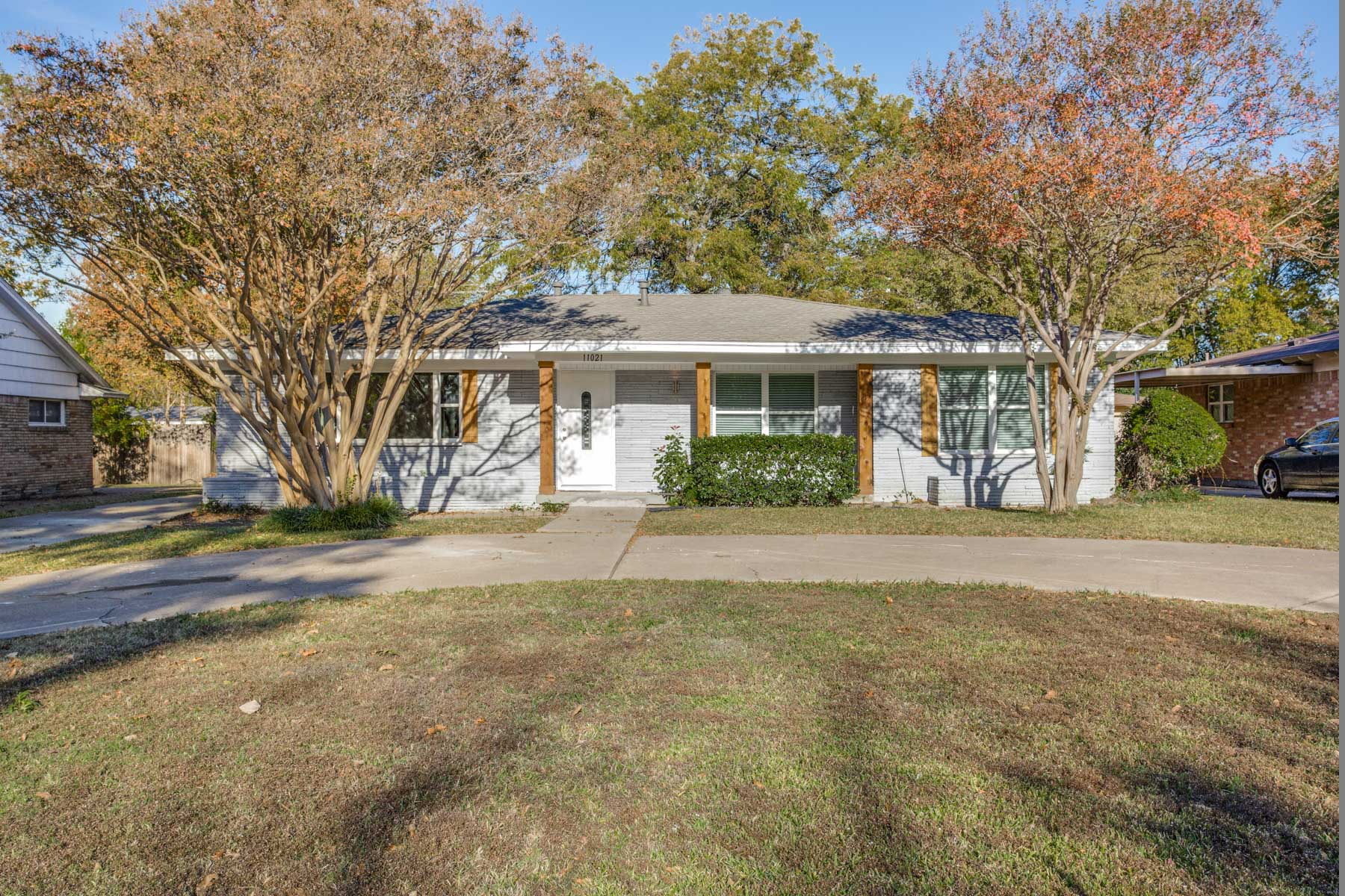 Single Family Home for Sale at Renovated Ranch in Saint Andrew 11021 Milhof Drive Dallas, Texas, 75228 United States