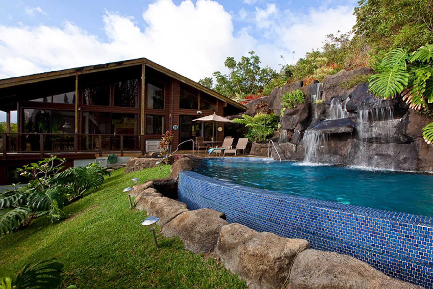 Single Family Home for Sale at 21 Acre Kahalu'u Country Estate 47-561 Mapele Road Kaneohe, Hawaii, 96744 United States