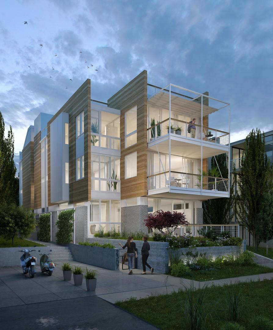 Nhà chung cư vì Bán tại The Odessa #A 2307 43rd Ave E #A Madison Park, Seattle, Washington, 98112 Hoa Kỳ