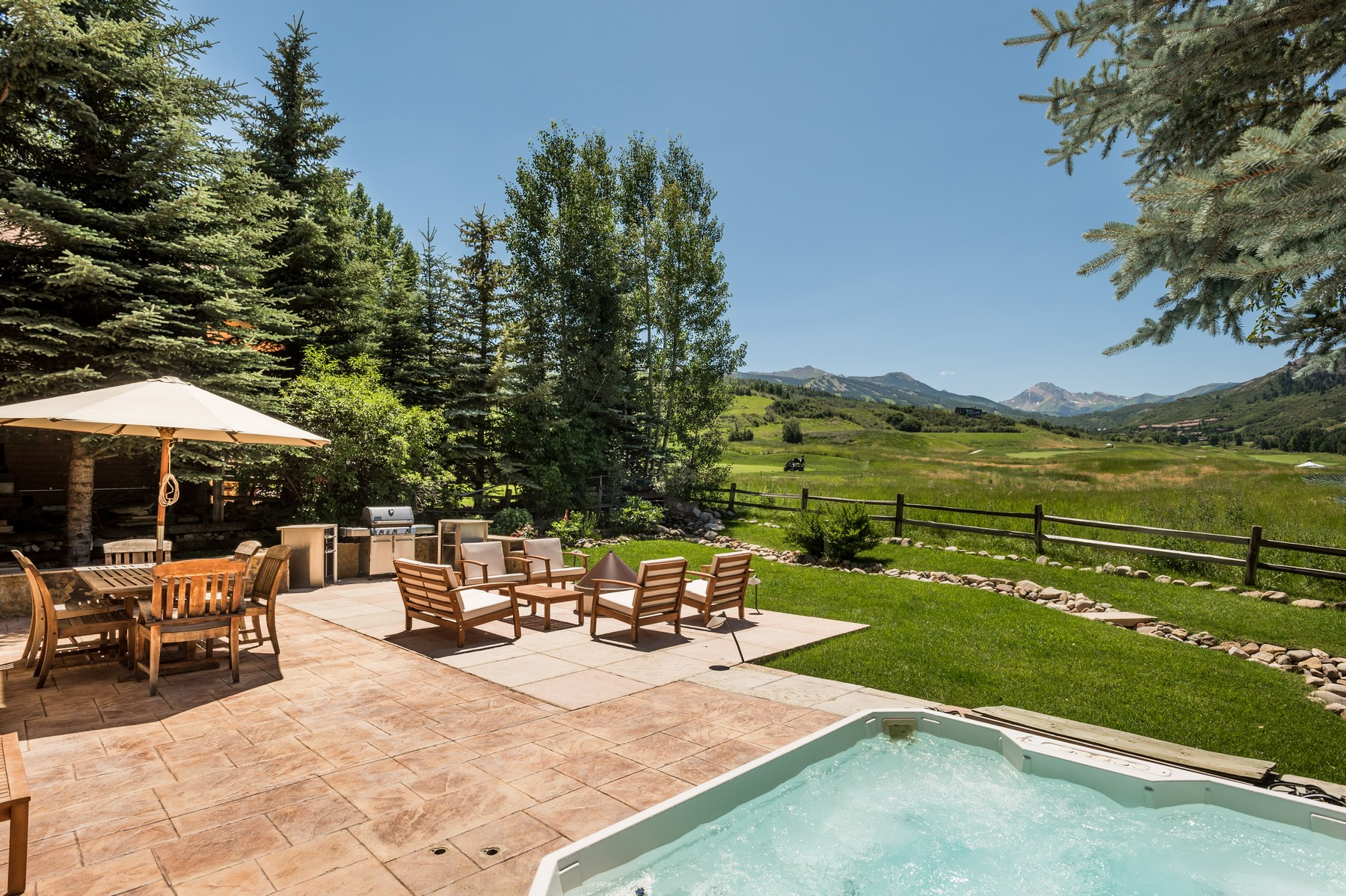 Single Family Home for Sale at Clean Lines, Big Views 477 Fairway Drive Snowmass Village, Colorado 81615 United States