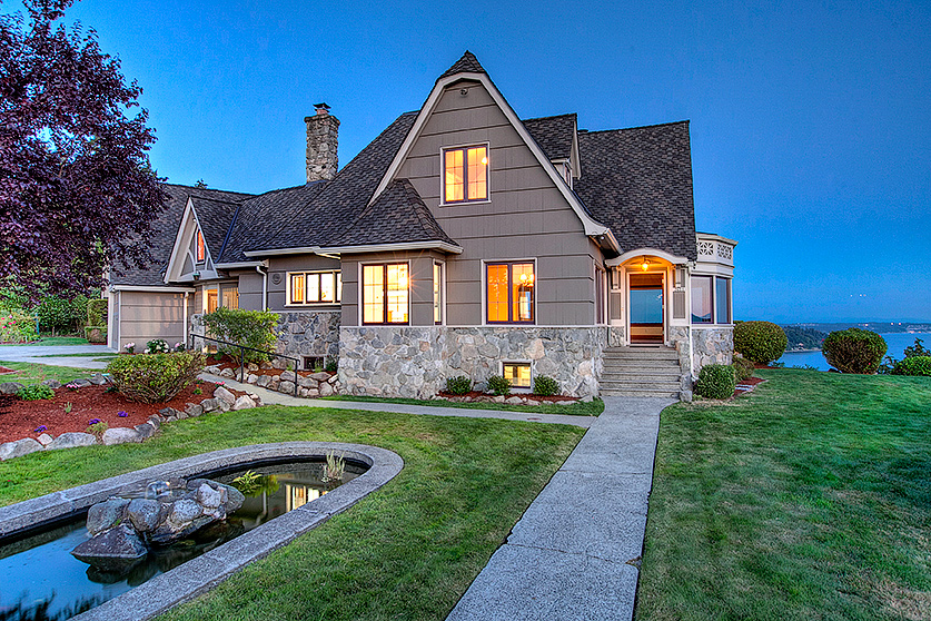 """Single Family Home for Sale at """"Gregory House"""", Refined Elegance Overlooking Puget Sound 2625 SW 170th Street Burien, Washington, 98166 United States"""