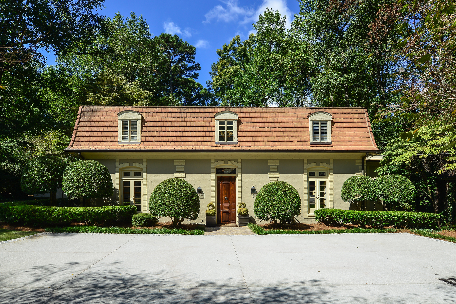 Single Family Home for Sale at Norman Askins Renovation Originally Modeled After Marie Antoinette's Paris Home 3872 Randall Ridge Road Buckhead, Atlanta, Georgia, 30327 United States