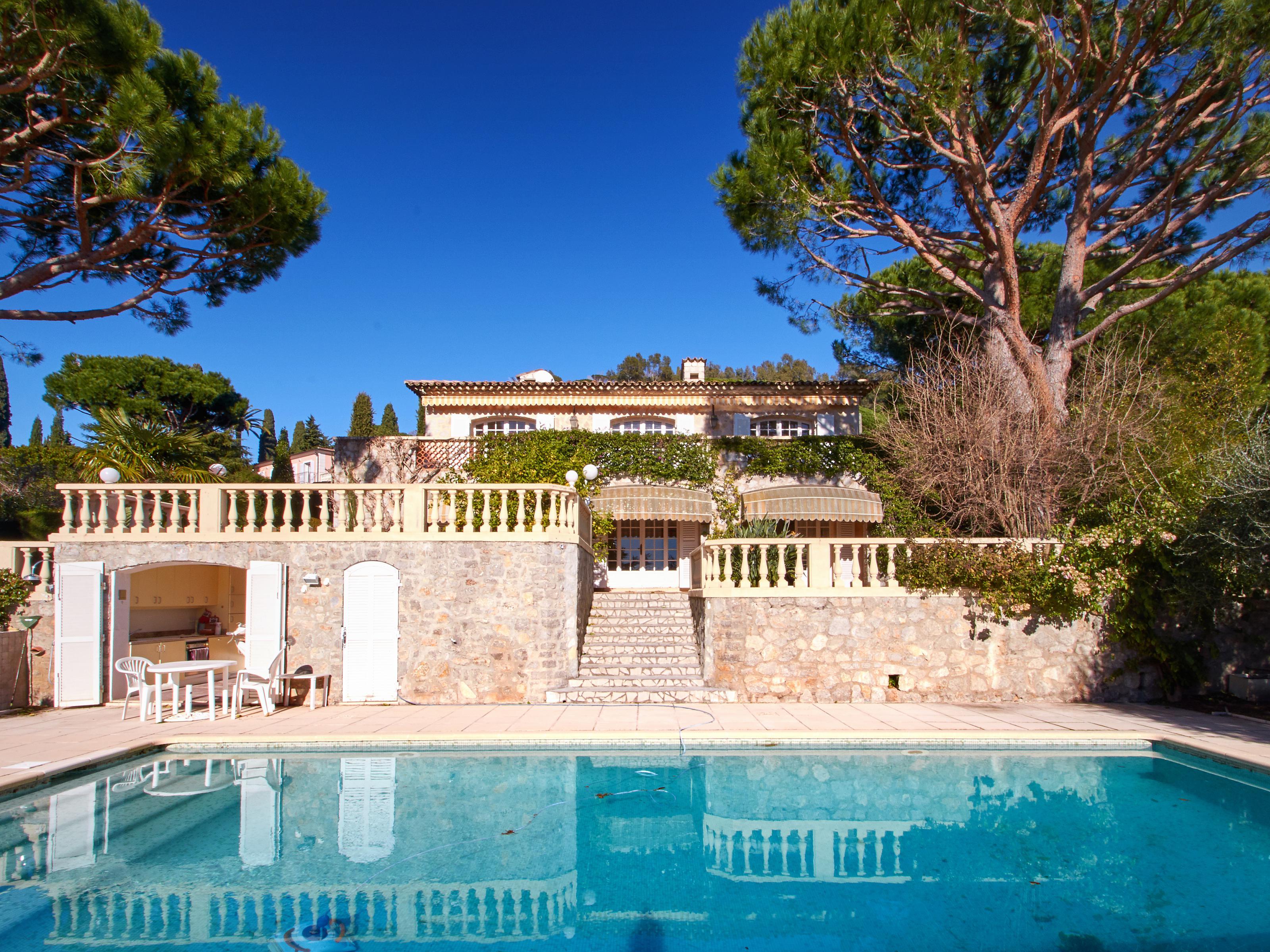 Casa Unifamiliar por un Venta en Sole agent - Cannes - Villa with sea views Cannes, Provincia - Alpes - Costa Azul 06150 Francia