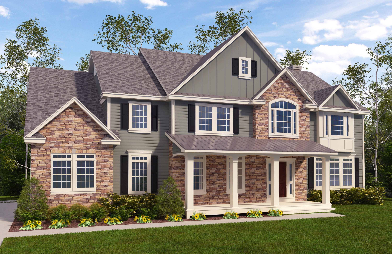Maison unifamiliale pour l Vente à New Construction 24 Valenza Lane Blauvelt, New York, 10913 États-Unis