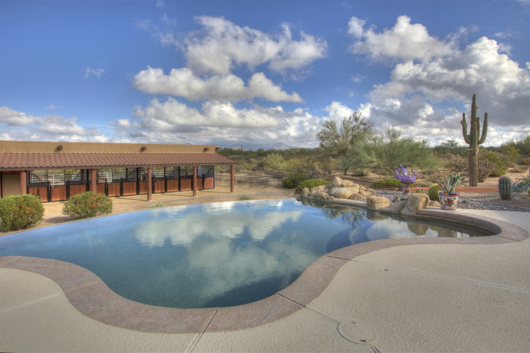 一戸建て のために 売買 アット Ranch with panoramic mountain views 31624 N Granite Reef Rd Scottsdale, アリゾナ, 85266 アメリカ合衆国