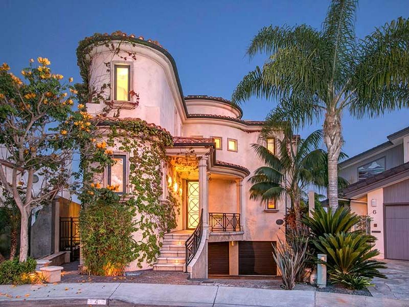 Casa Unifamiliar por un Venta en 4 Sandpiper Strand Coronado, California 92118 Estados Unidos