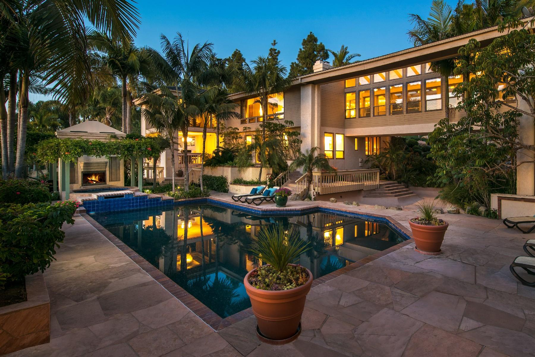 独户住宅 为 销售 在 4611 La Noria Rancho Santa Fe, 加利福尼亚州 92067 美国