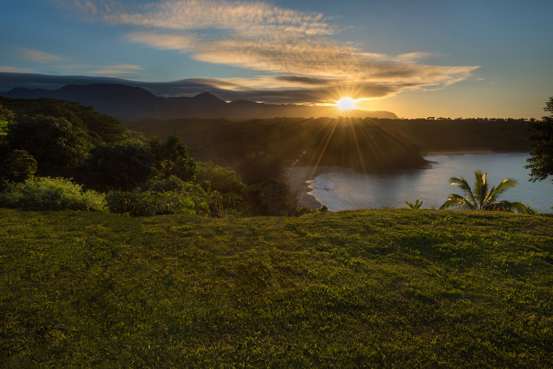토지 용 매매 에 Kaohe Views 2991-C Kaohe Rd, #1 Kilauea, 하와이, 96754 미국