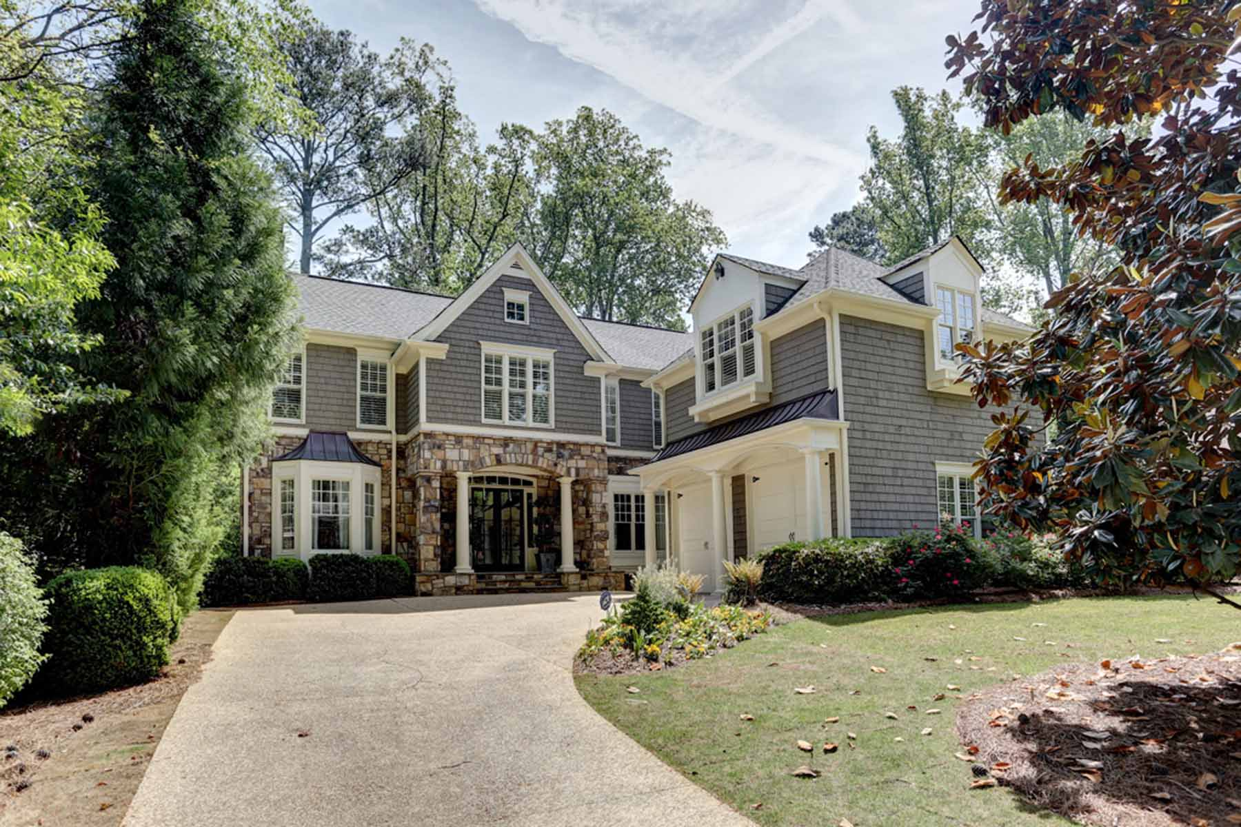 단독 가정 주택 용 매매 에 Remarkable Spitzmiller & Norris custom home in Morningside 1675 Wildwood Road NE Morningside, Atlanta, 조지아, 30306 미국
