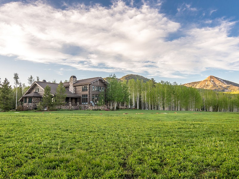 Granjas / Hacienda / Platanción por un Venta en Snowy Mountain Ranch 61625 CR 62 Steamboat Springs, Colorado, 80487 Estados Unidos