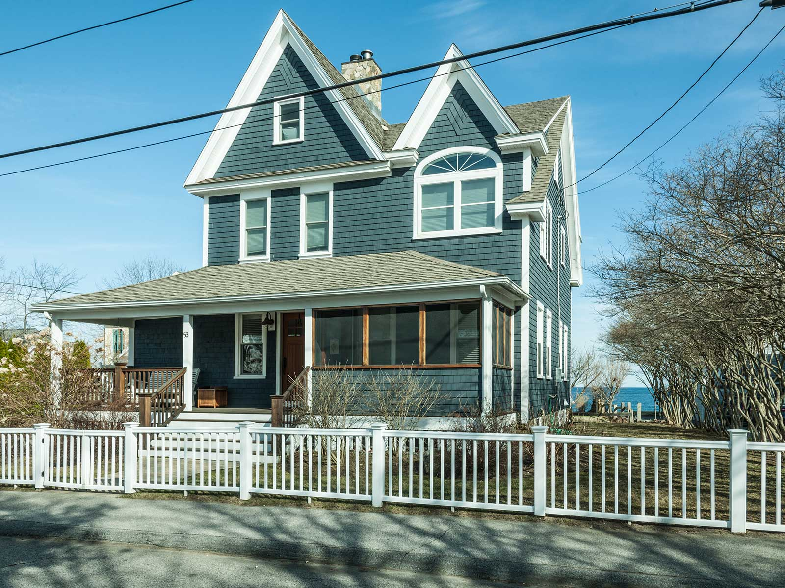 Single Family Home for Sale at Ocean View Victorian in York 53 Freeman Street York, Maine 03909 United States