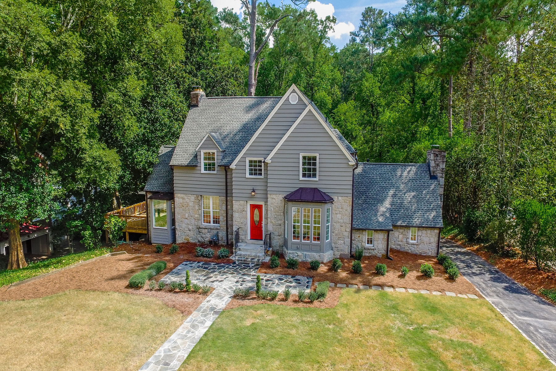 Single Family Home for Sale at Inviting Cottage in Tranquil Haynes ManorBuckhead Estate Setting 510 Westover Drive NW Haynes Manor, Atlanta, Georgia, 30305 United States