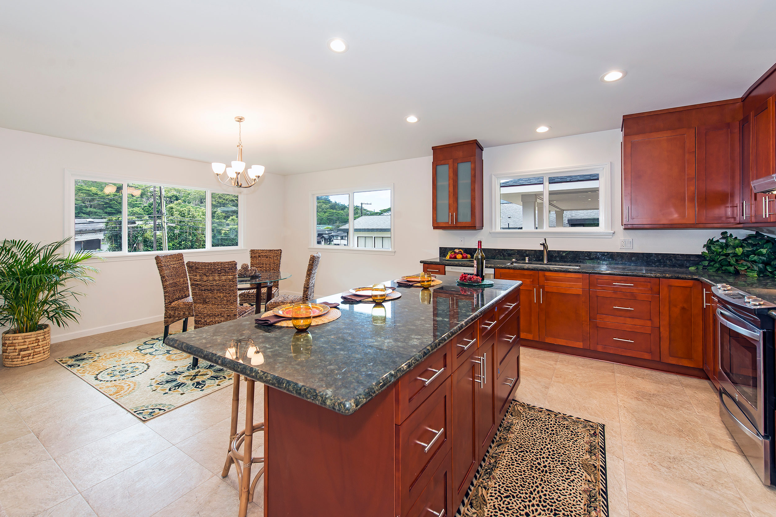 Single Family Home for Sale at Tranquil Island Home 3586 Kalihi Street Kalihi Valley, Honolulu, Hawaii 96819 United States