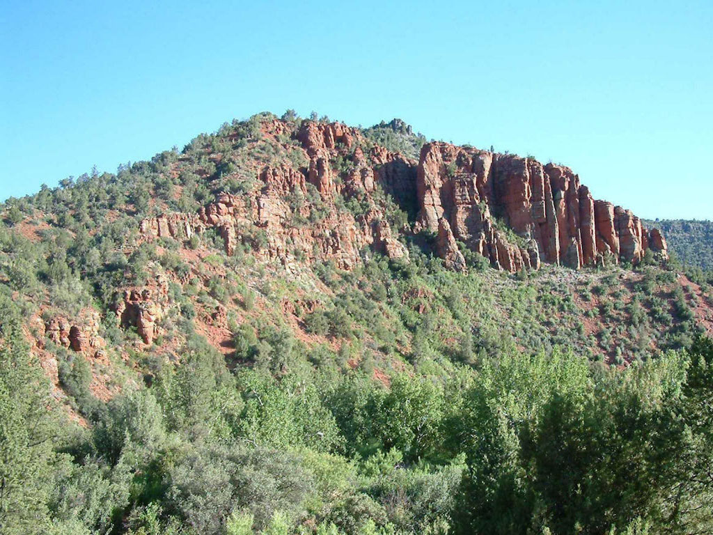 sales property at Best Creek-frontage Sedona Lot
