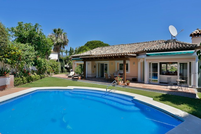 Single Family Home for Sale at Villa with golf views Nueva Andalucia Las Brisas Marbella, Andalucia 29660 Spain